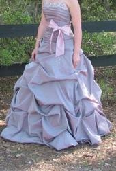 Beautiful Lavender Prom Dress
