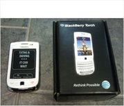 For Sale: Brand NEW BlackBerry Torch 9800 White(Unlocked Original)